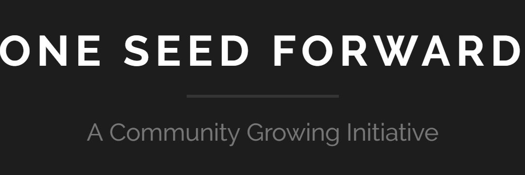One Seed Forward donation