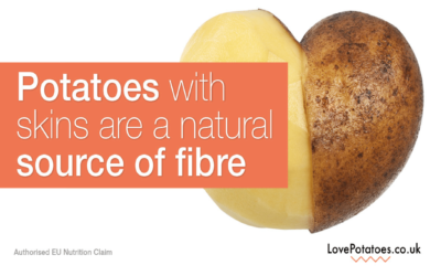 Why potatoes are good for you – Fibre